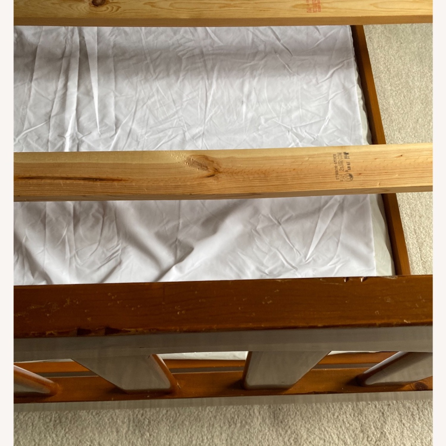 Pottery Barn Kids Full Size Bed and Trundle - image-6
