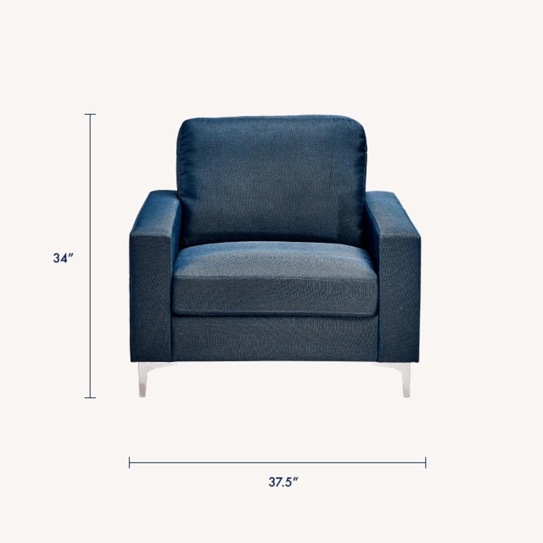 Modway Zapata Lounge Chair BLUE - image-4