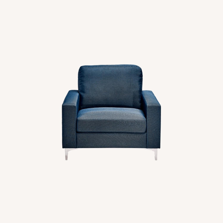 Modway Zapata Lounge Chair BLUE - image-0