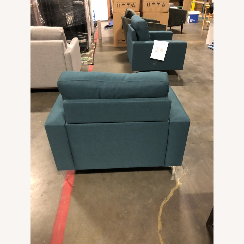 Modway Zapata Lounge Chair BLUE - image-1