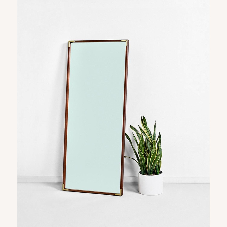 Wood Frame Floor Mirror - image-2