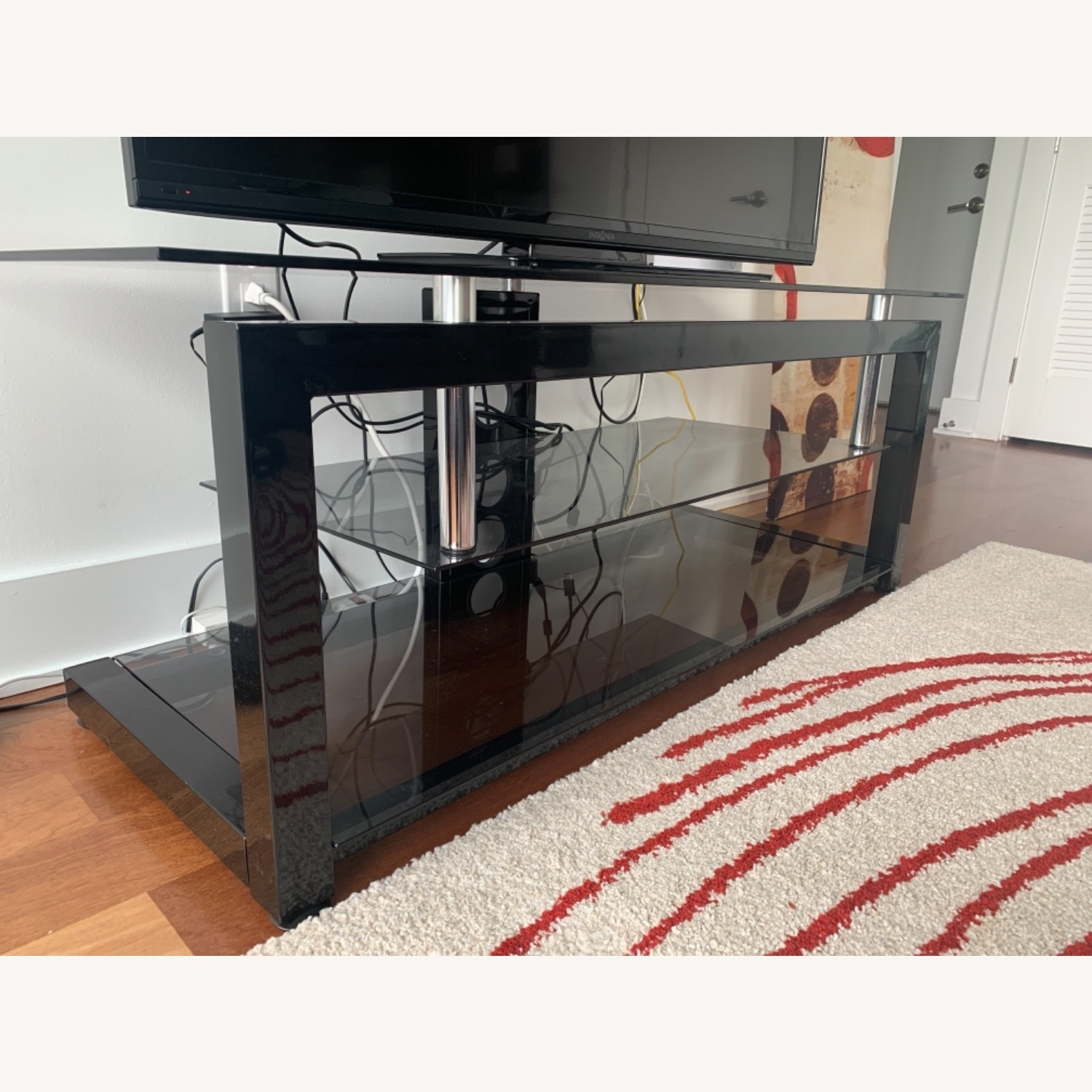 3 Level Glass TV stand - image-3