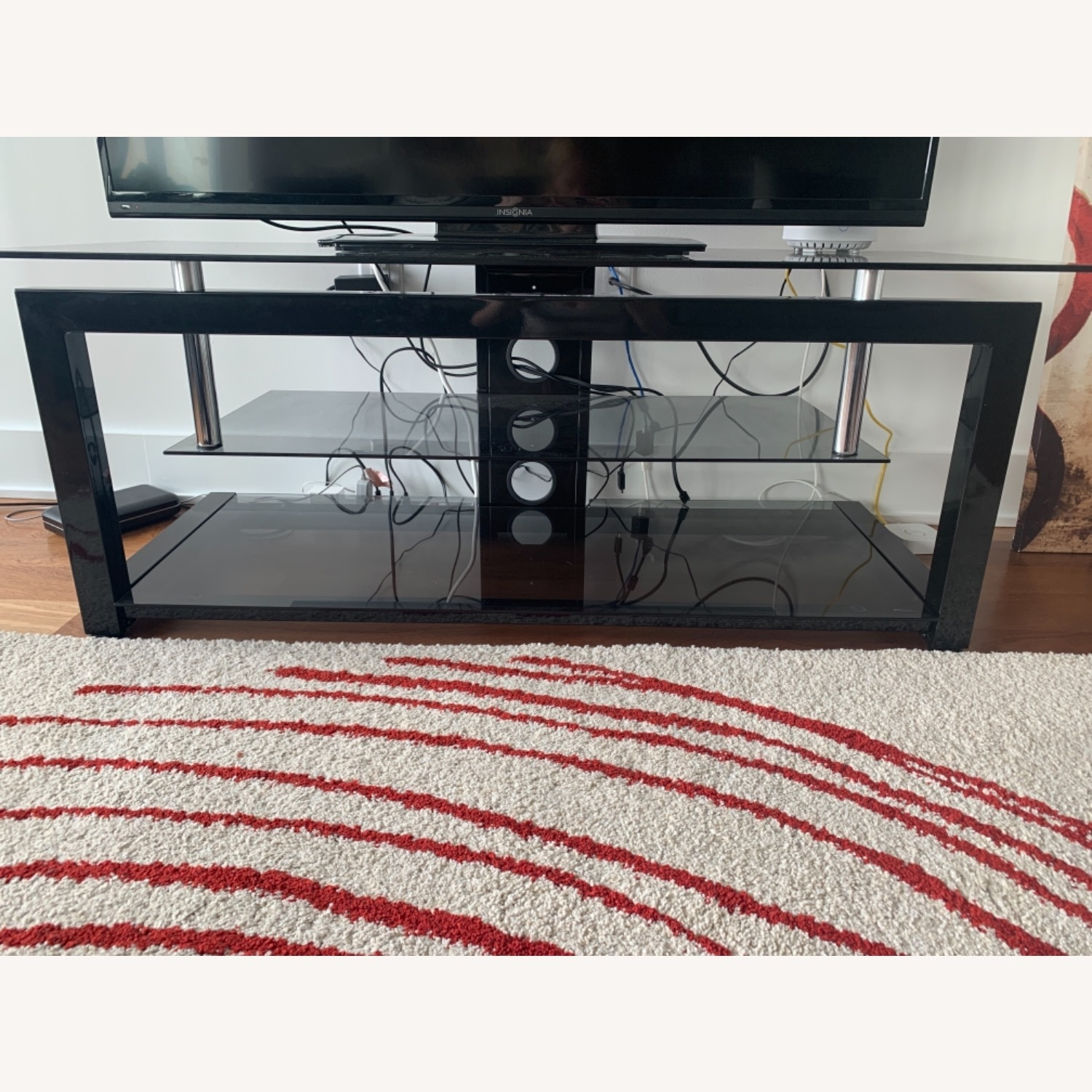 3 Level Glass TV stand - image-1