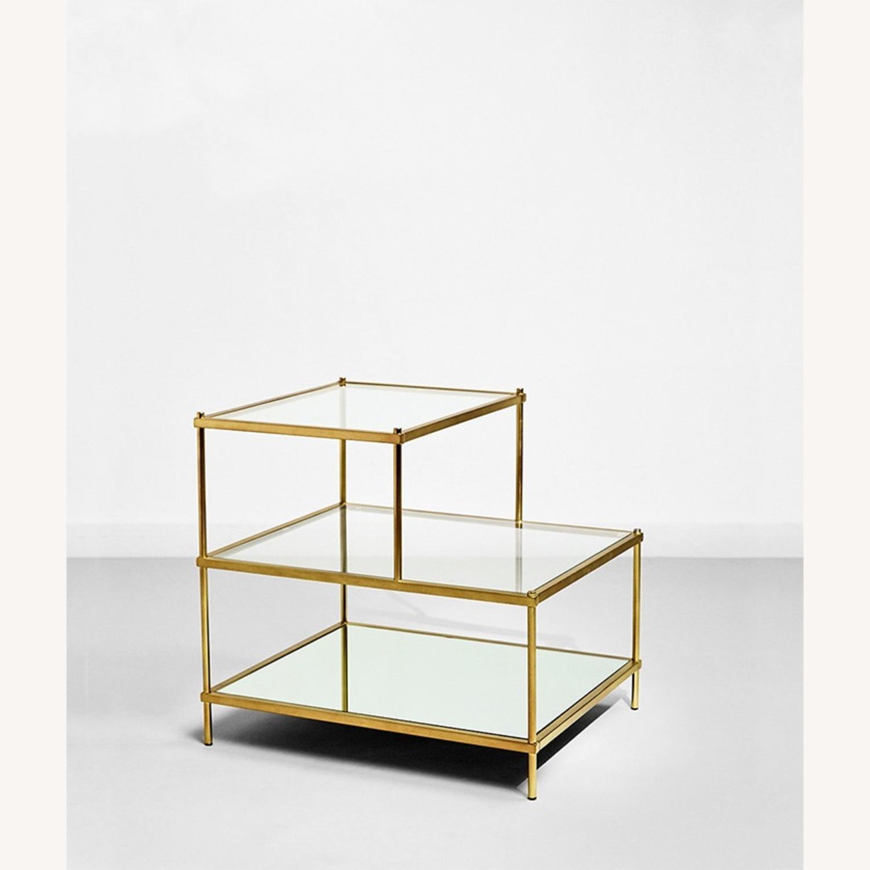 Metal/Glass Side Table - image-4