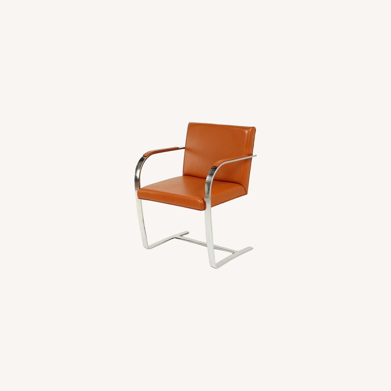 Brno Chair Tubular: Ludwig Mies van der Rohe - image-0