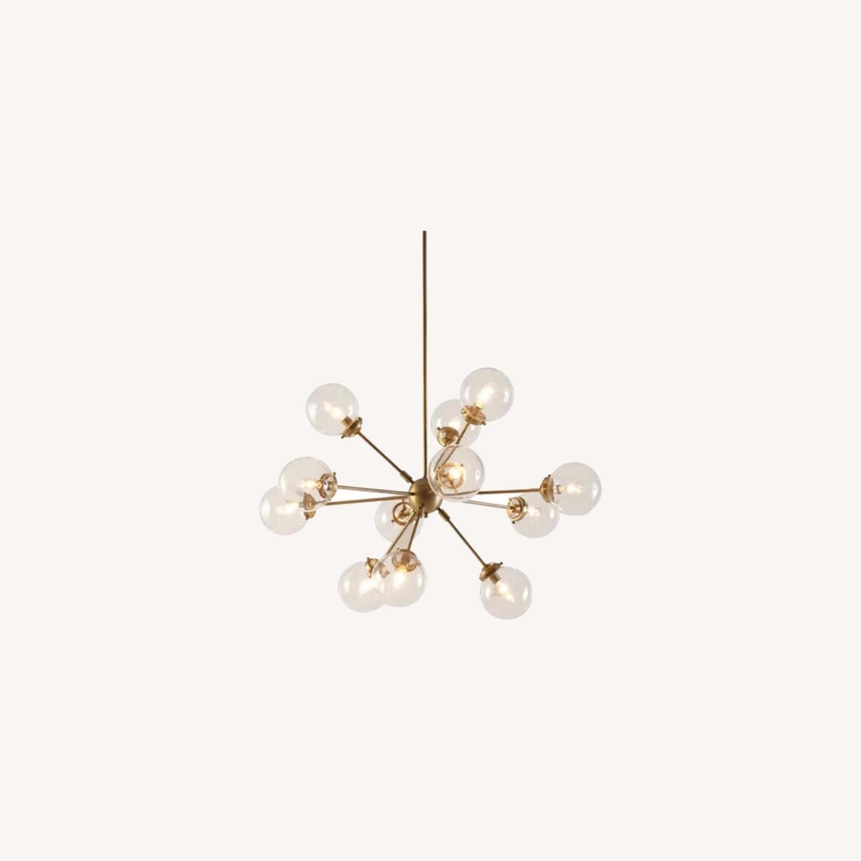 AllModern Gold Sputnik chandelier 12 bulb - image-0