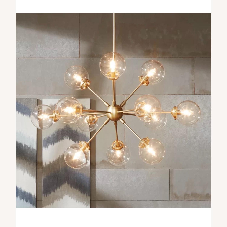 AllModern Gold Sputnik chandelier 12 bulb - image-2