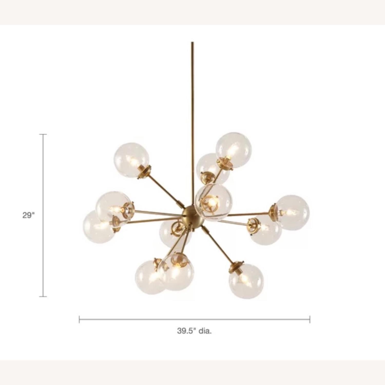 AllModern Gold Sputnik chandelier 12 bulb - image-4
