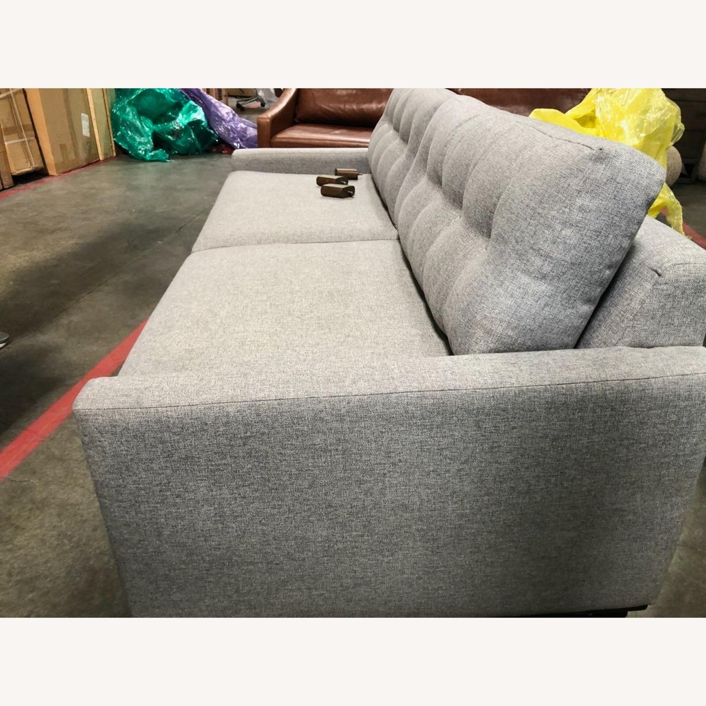 Joybird Hopson Sleeper Sofa - Taylor Felt Gray - image-5