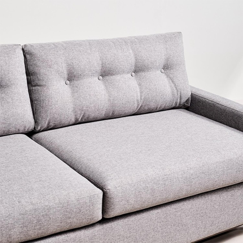 Joybird Hopson Sleeper Sofa - Taylor Felt Gray - image-4