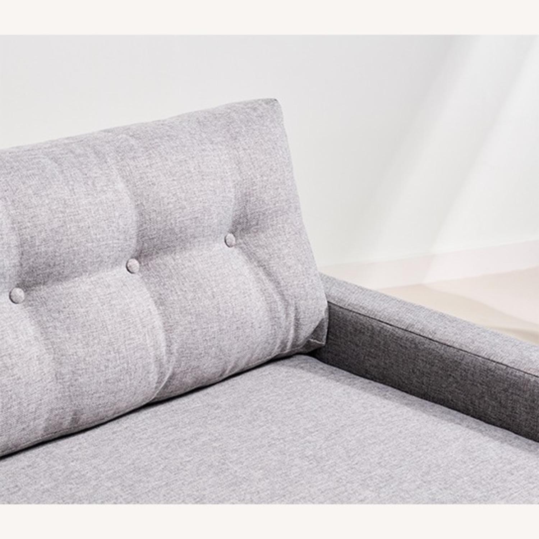 Joybird Hopson Sleeper Sofa - Taylor Felt Gray - image-3