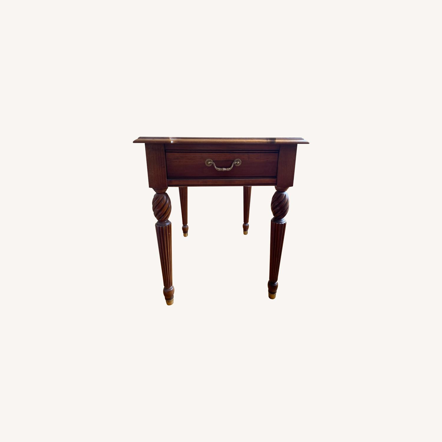 Ethan Allen Side Table - image-0