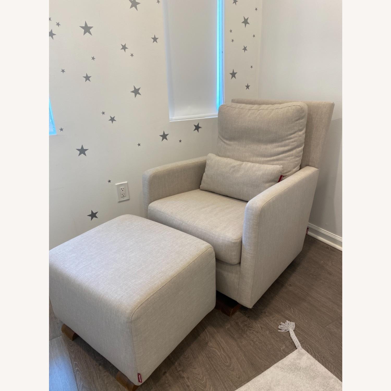 Monte Como Chair and Ottoman - image-5