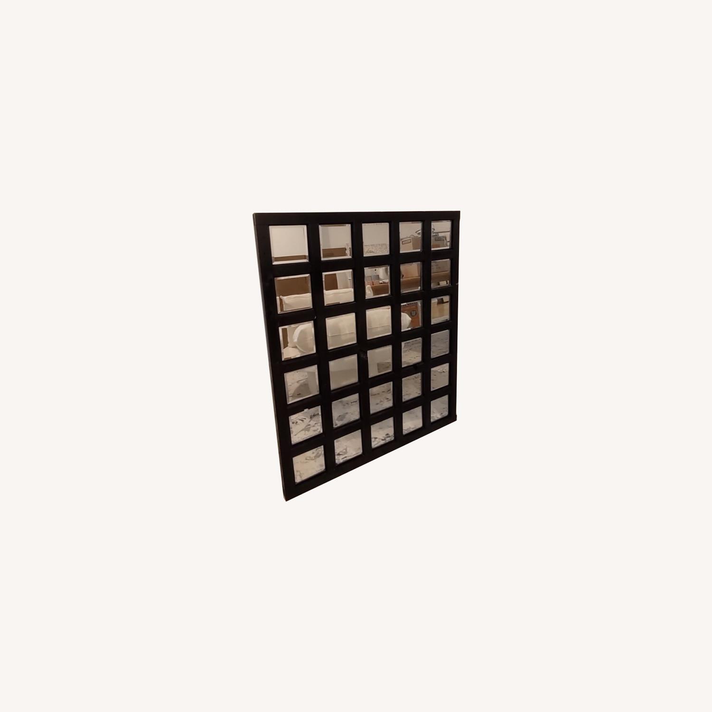 Custom Loft Mirror Black Rectangular - image-0
