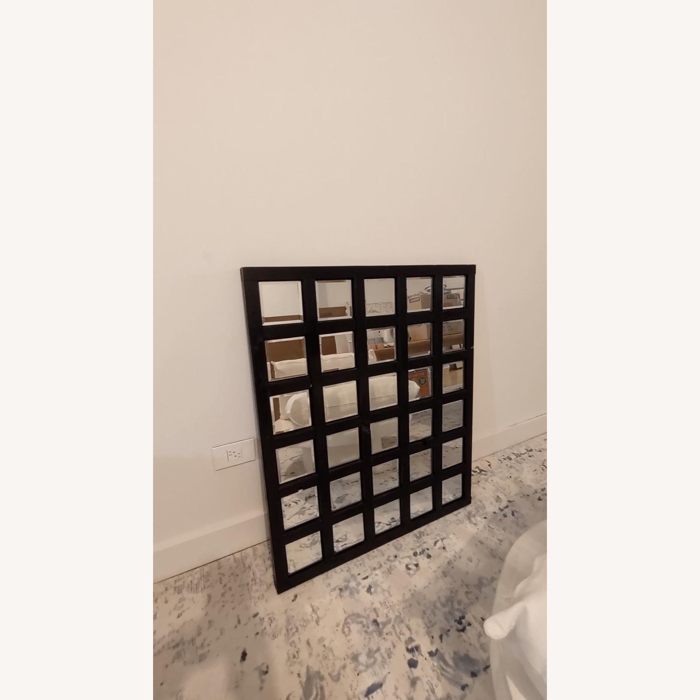 Custom Loft Mirror Black Rectangular - image-1