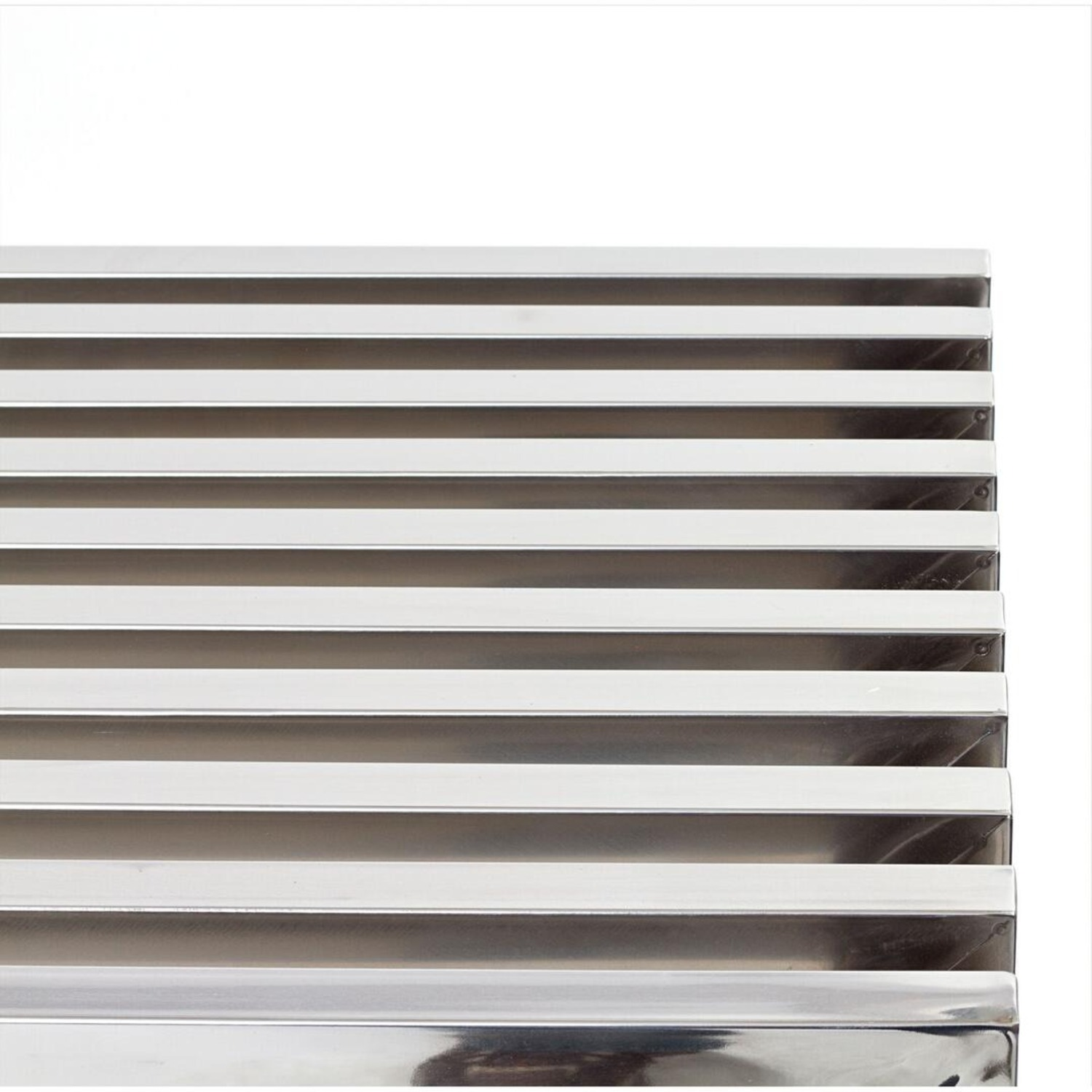 Bench In Silver Medium Stainless Steel Finish - image-2