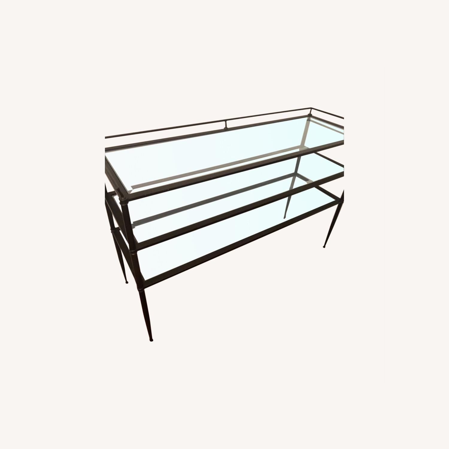 Pristine 3-tiered Glass Table - image-0