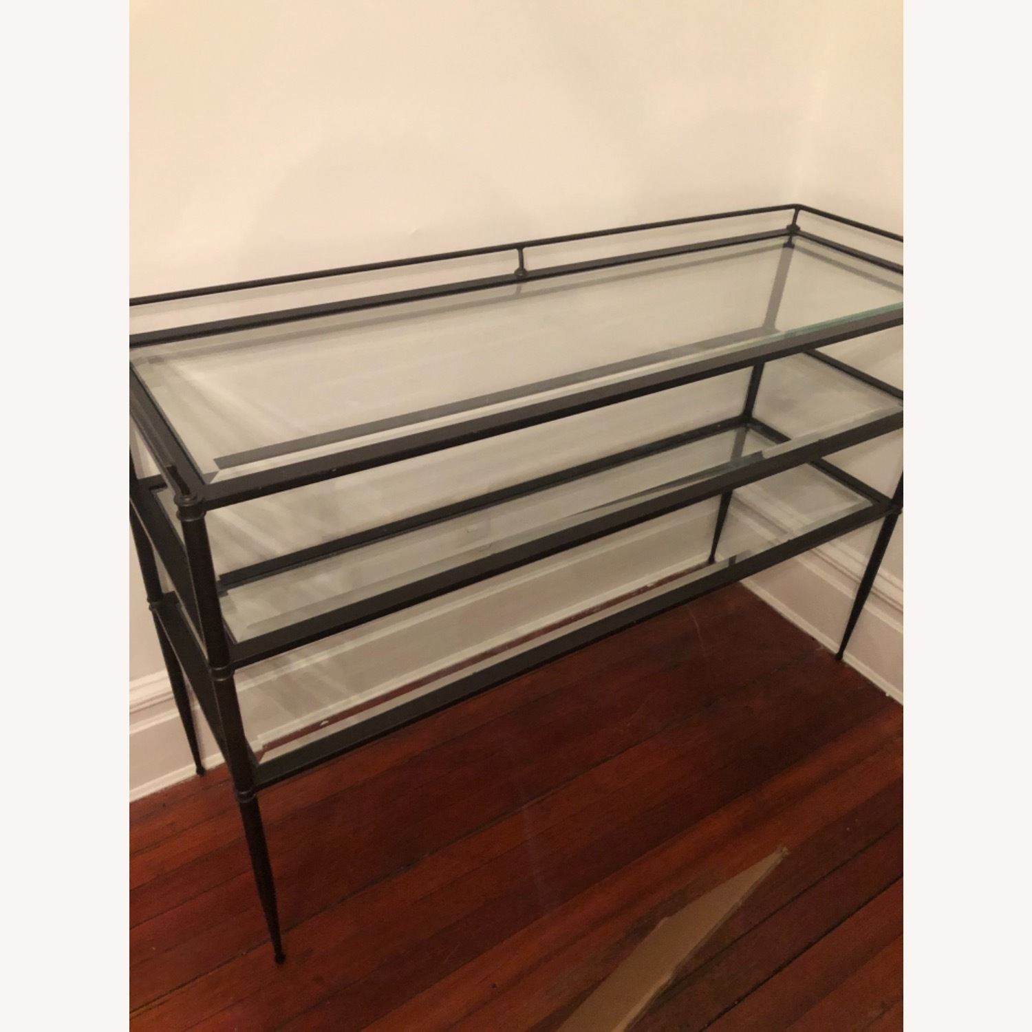 Pristine 3-tiered Glass Table - image-1