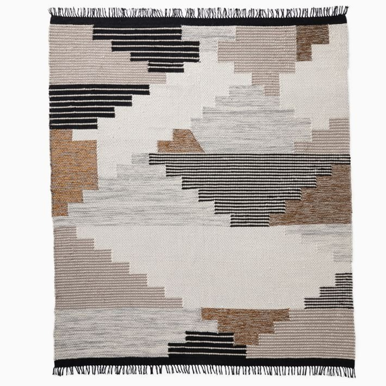 West Elm Colca Wool Rug, Flax, 5'x8' - image-3