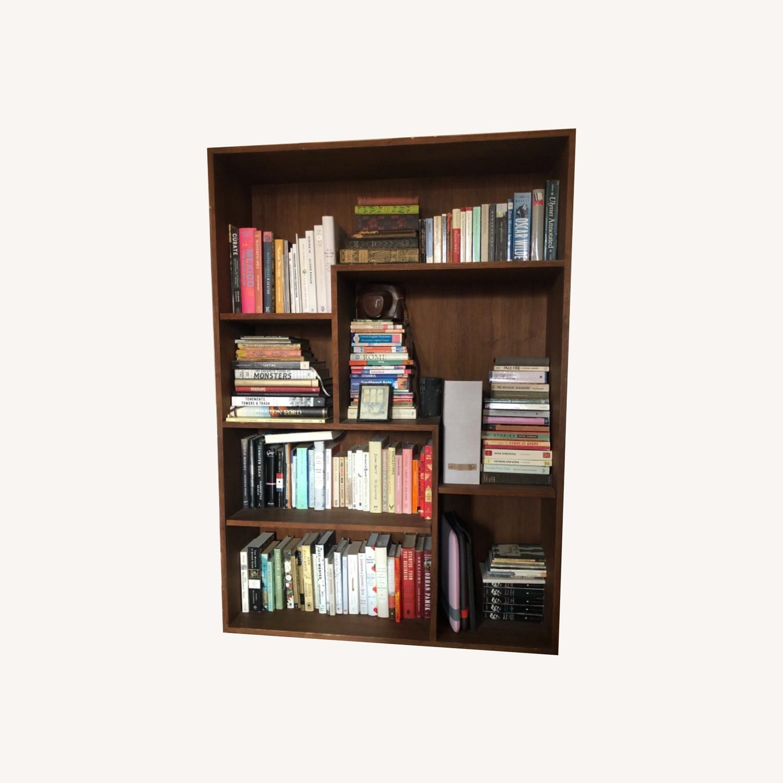 Custom Made Midcentury Bookcase - image-0