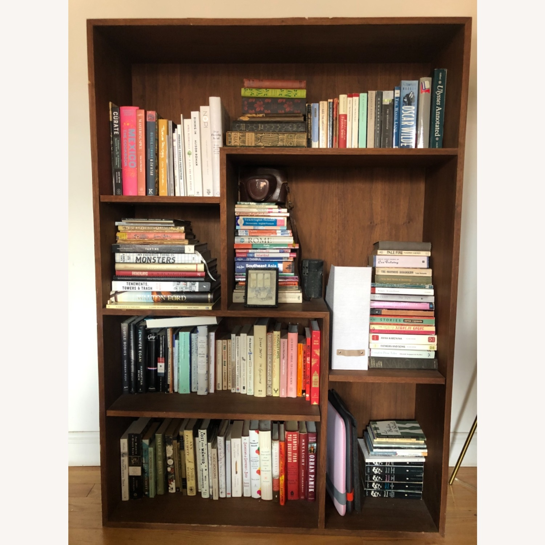 Custom Made Midcentury Bookcase - image-1
