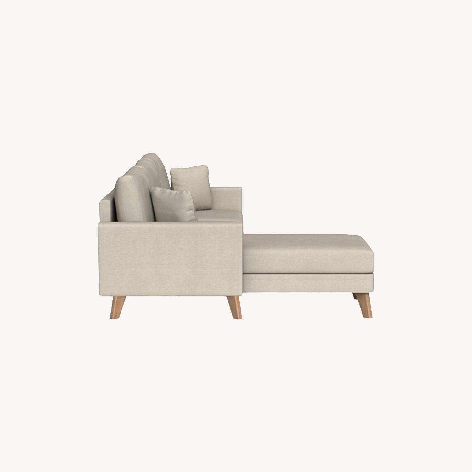 Inside Weather Custom Milo Sectional in Almond - image-0