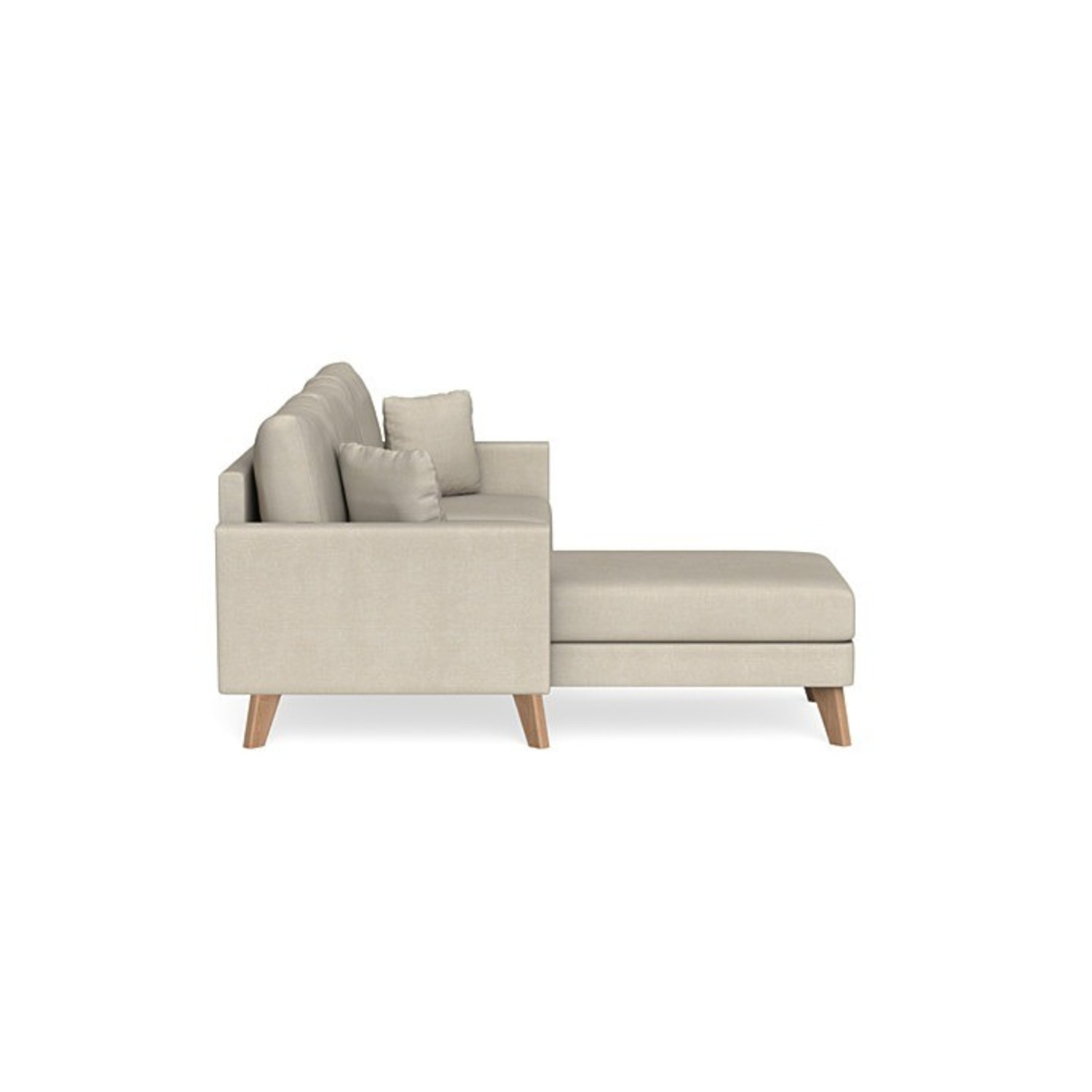 Inside Weather Custom Milo Sectional in Almond - image-3