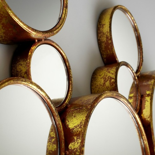 """Used 41"""" Bubbles Mirror by Cyan Design for sale on AptDeco"""
