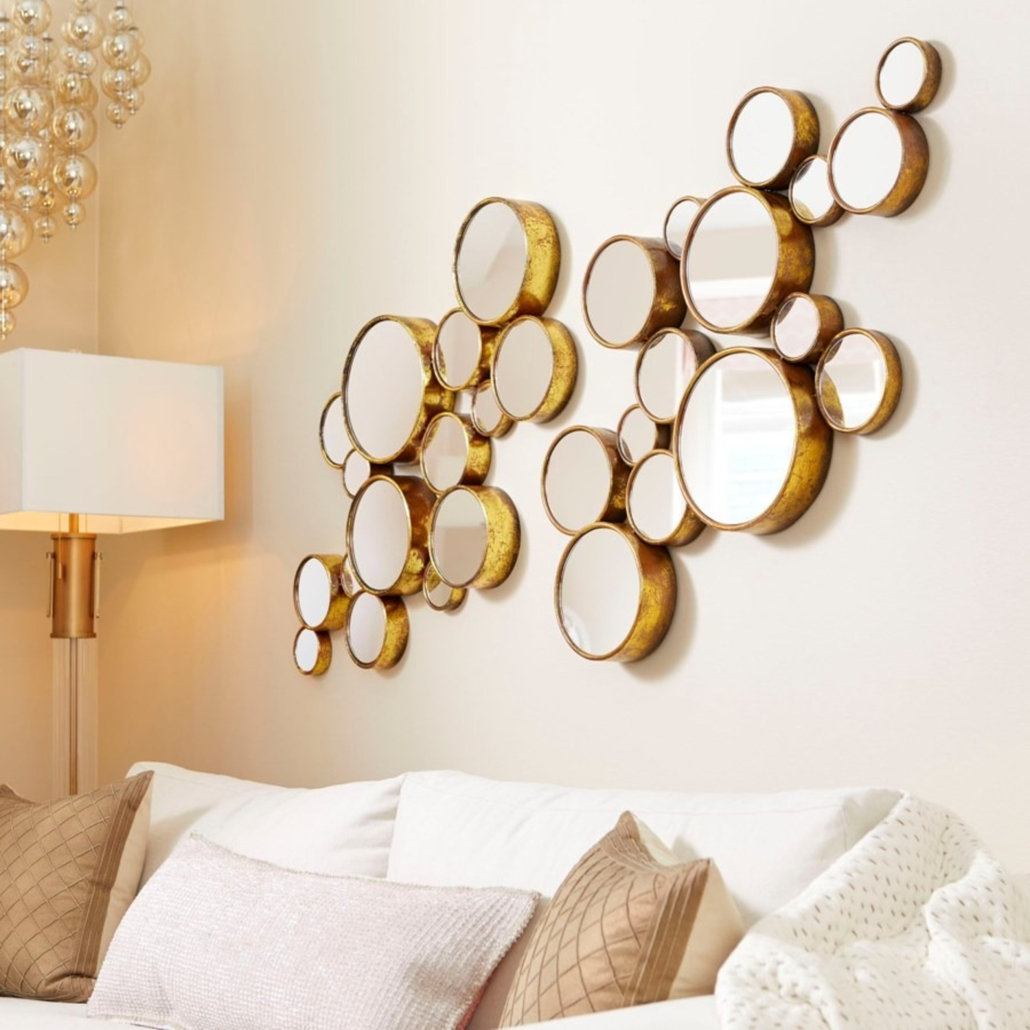 """41"""" Bubbles Mirror by Cyan Design - image-1"""