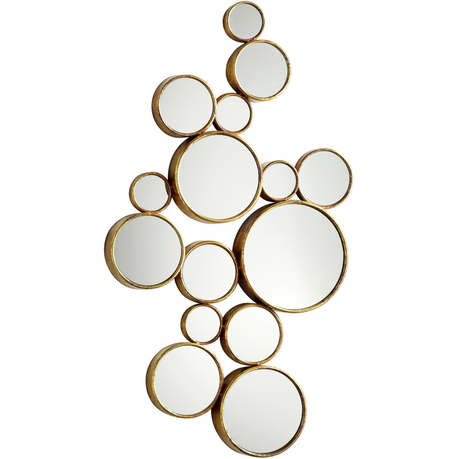 """41"""" Bubbles Mirror by Cyan Design - image-2"""