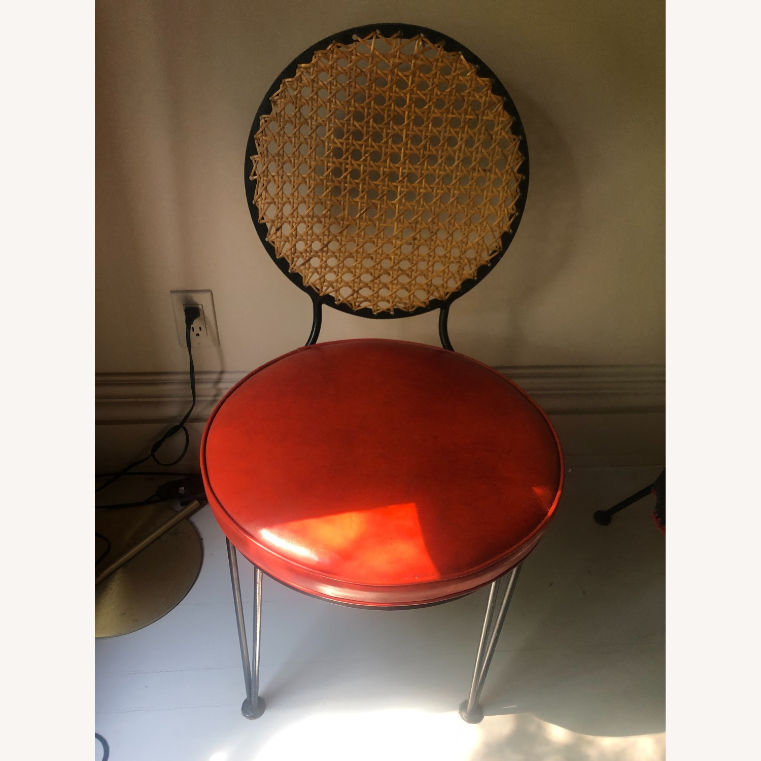 Vintage 1950s French Cane Chairs - image-5