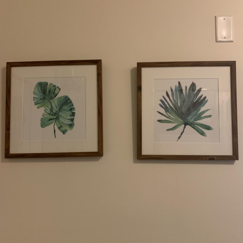 Set of Two Tropical Framed Prints - image-1