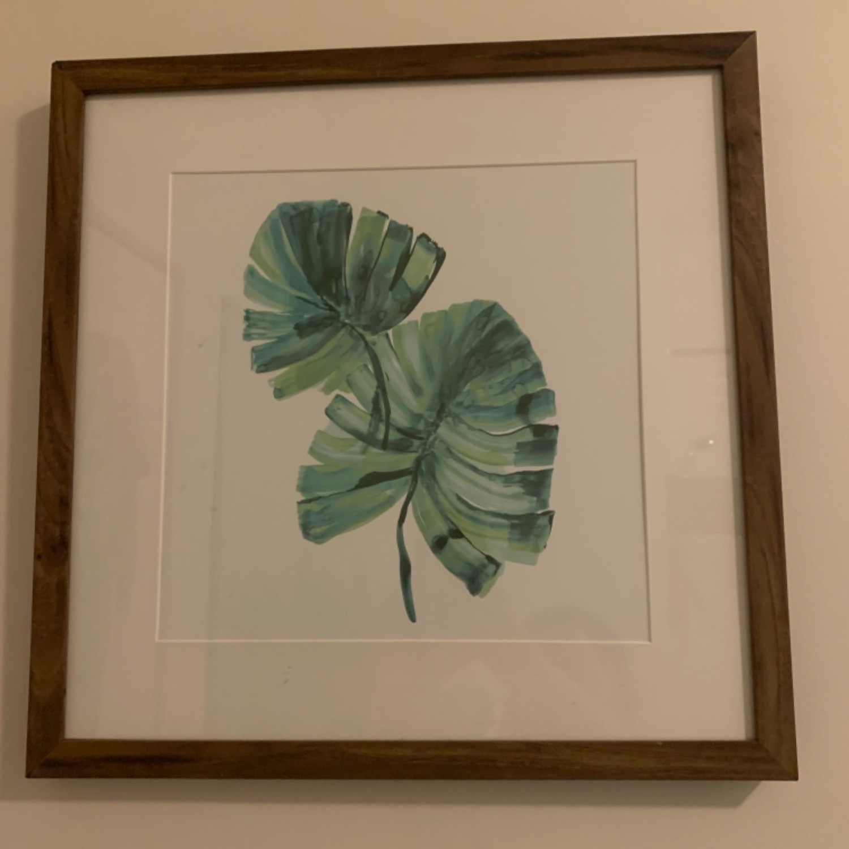 Set of Two Tropical Framed Prints - image-3