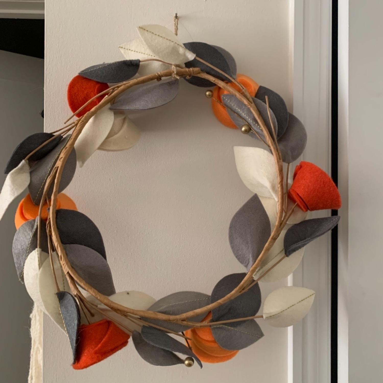 Faux Floral Wreath - image-2
