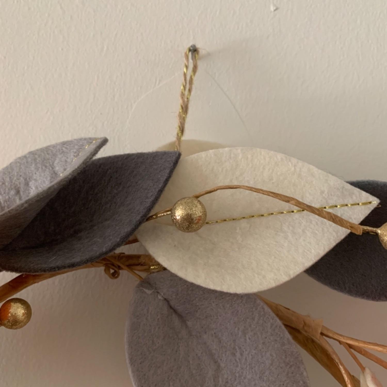 Faux Floral Wreath - image-11