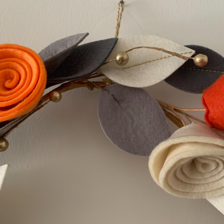 Faux Floral Wreath - image-3