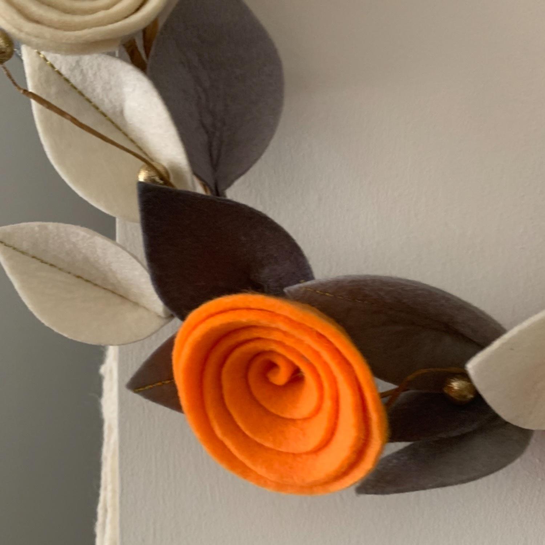 Faux Floral Wreath - image-7