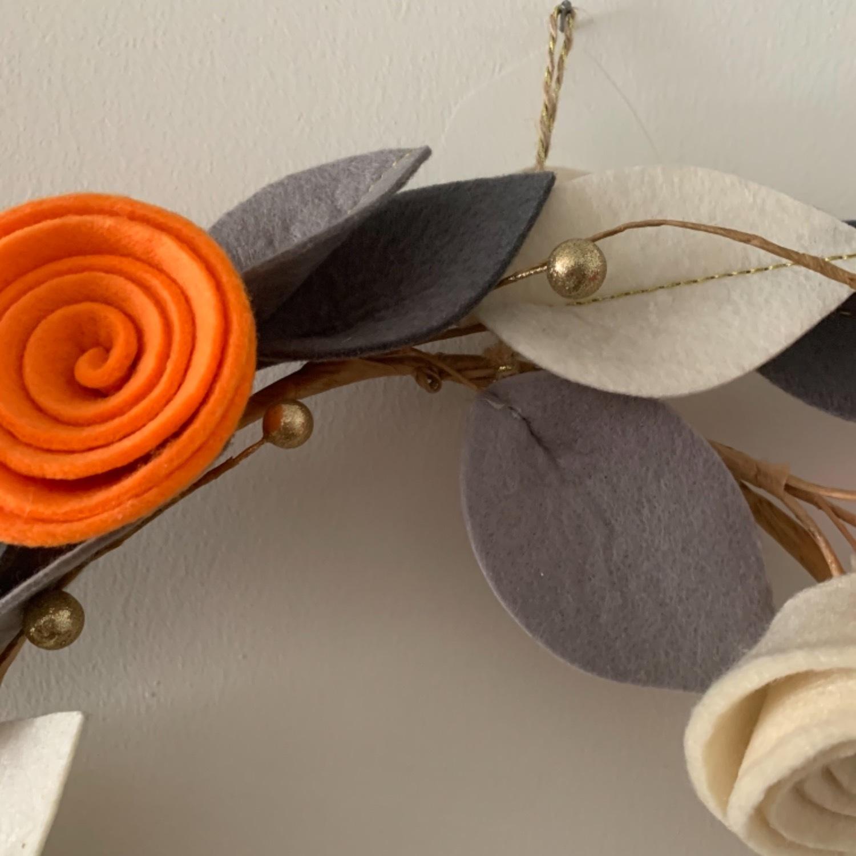 Faux Floral Wreath - image-10