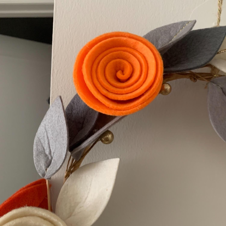 Faux Floral Wreath - image-9