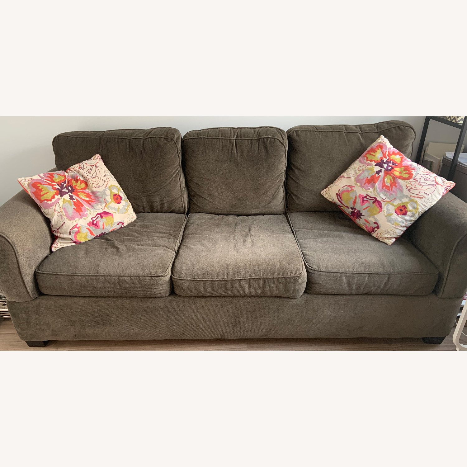 Jennifer Convertibles Comfy 3-Seater Couch - image-1