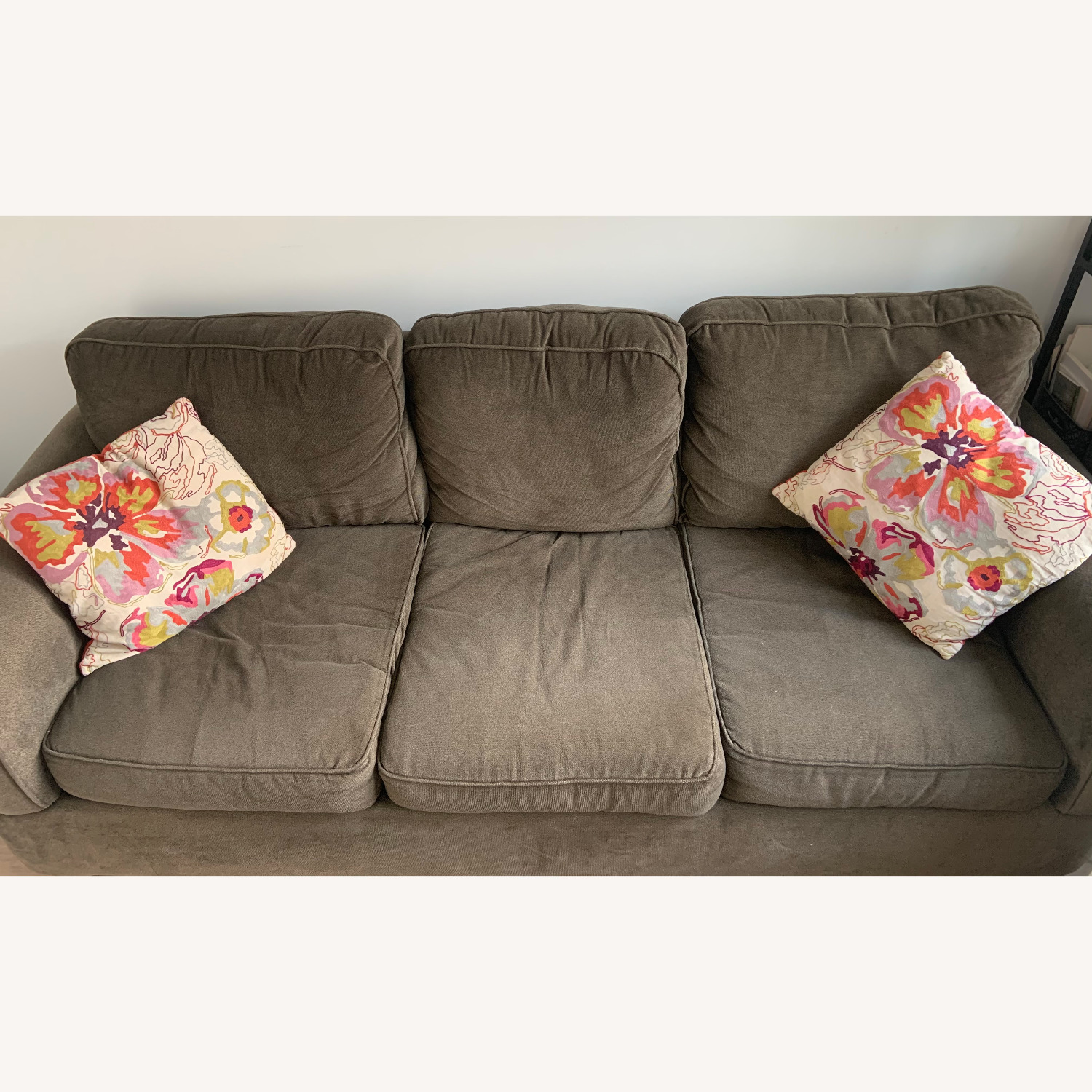 Jennifer Convertibles Comfy 3-Seater Couch - image-2