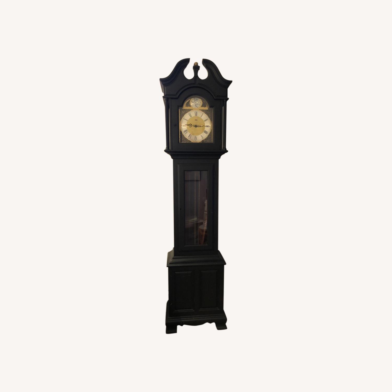 Grandfather Clock Vintage Tempus Fugit - image-0