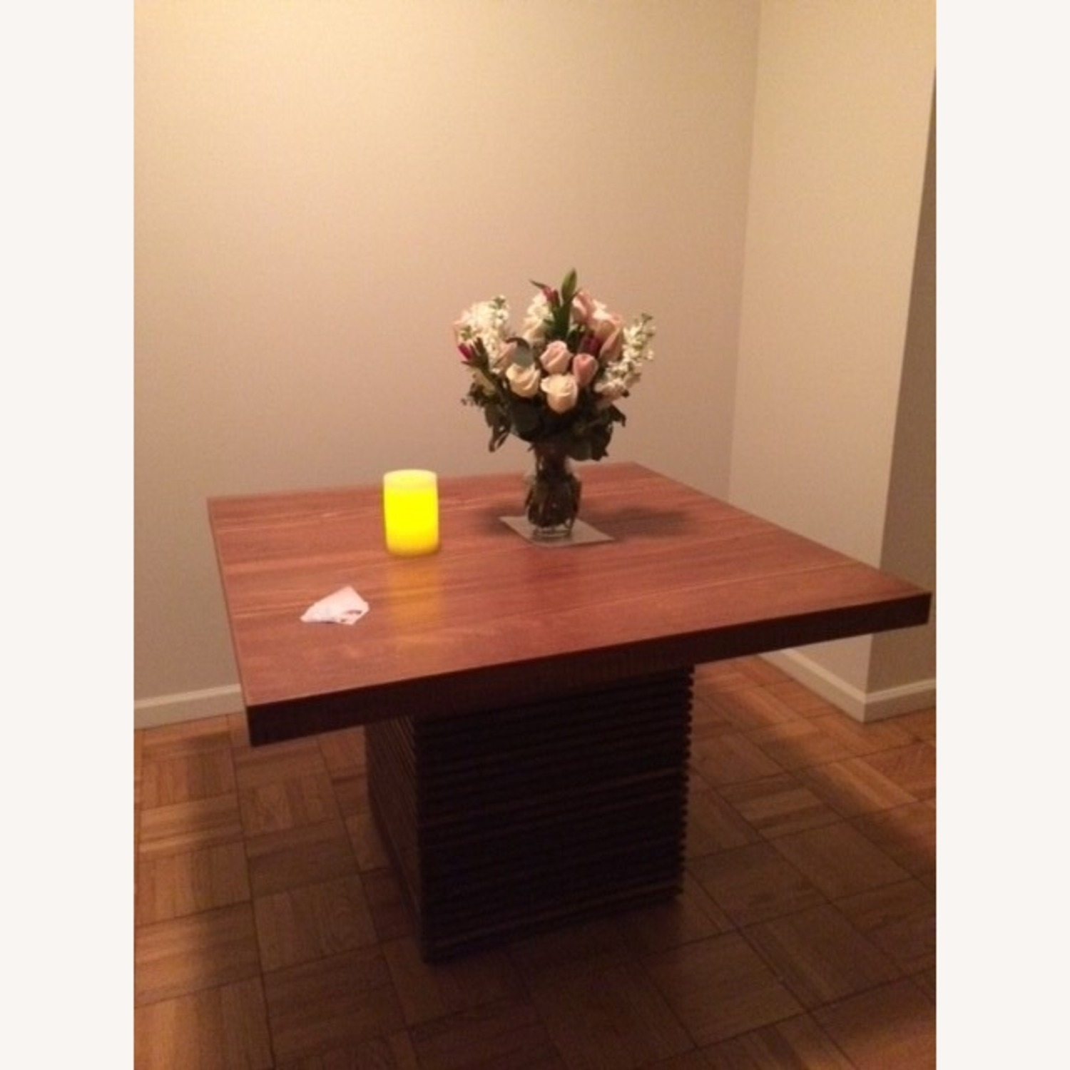 Crate and Barrel Paloma II Square Table - image-3