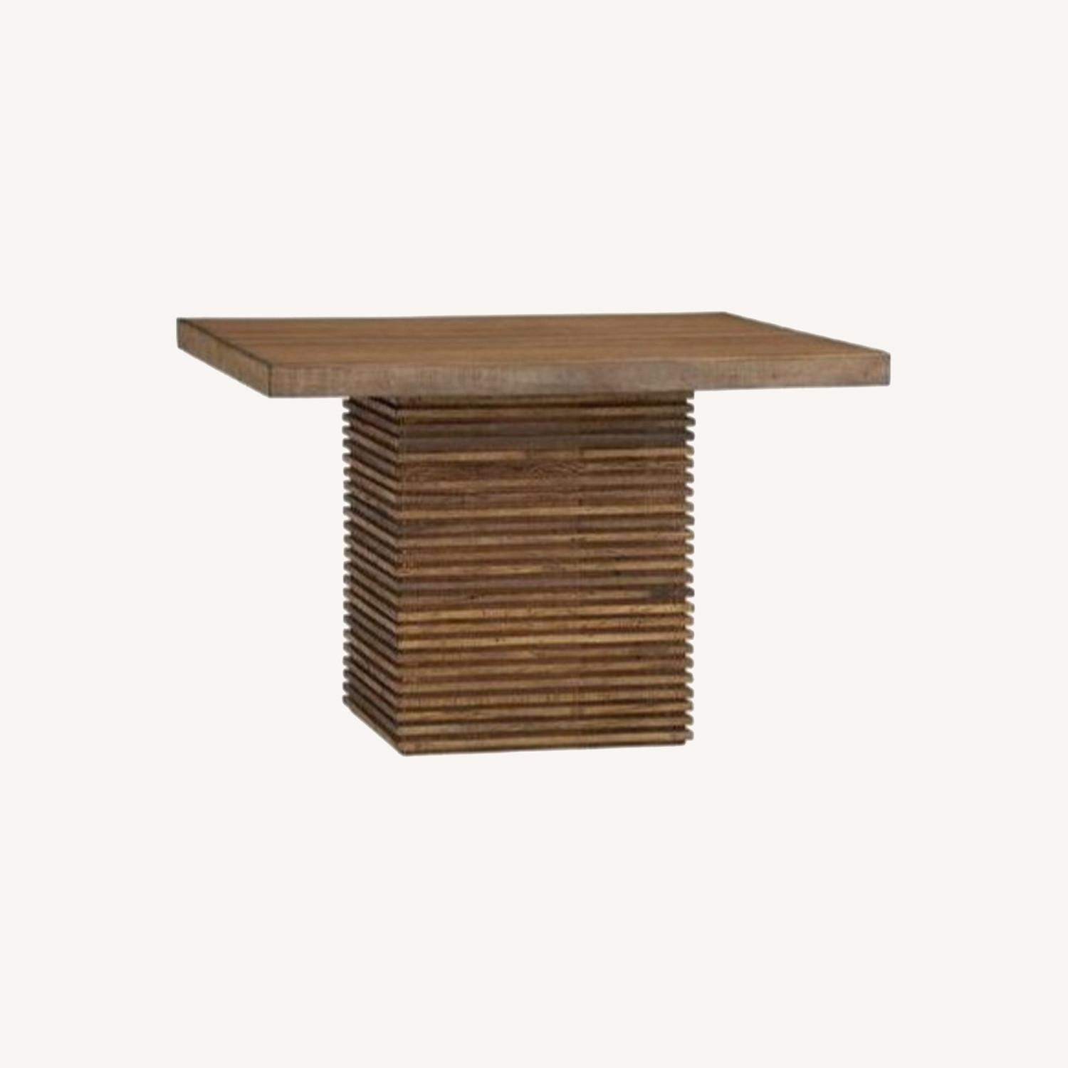Crate and Barrel Paloma II Square Table - image-0