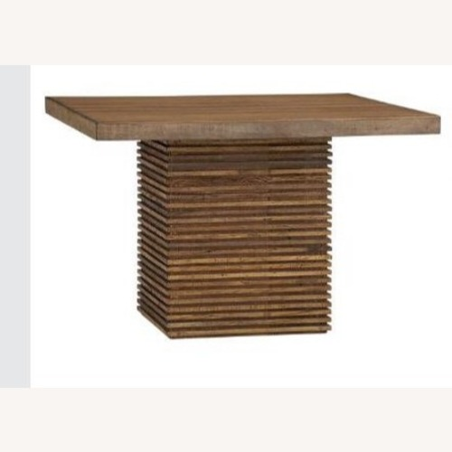 Used Crate and Barrel Paloma II Square Table for sale on AptDeco