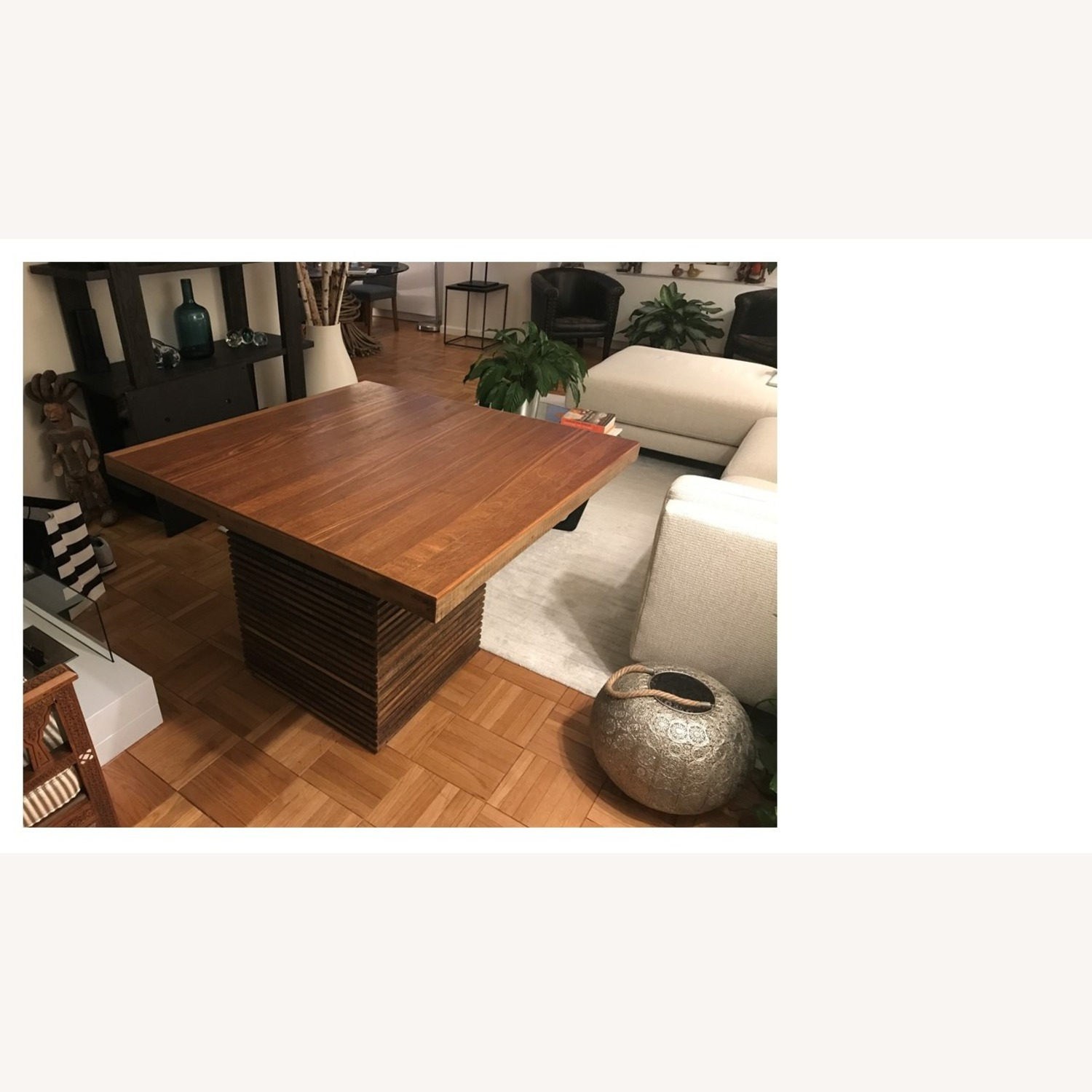 Crate and Barrel Paloma II Square Table - image-1