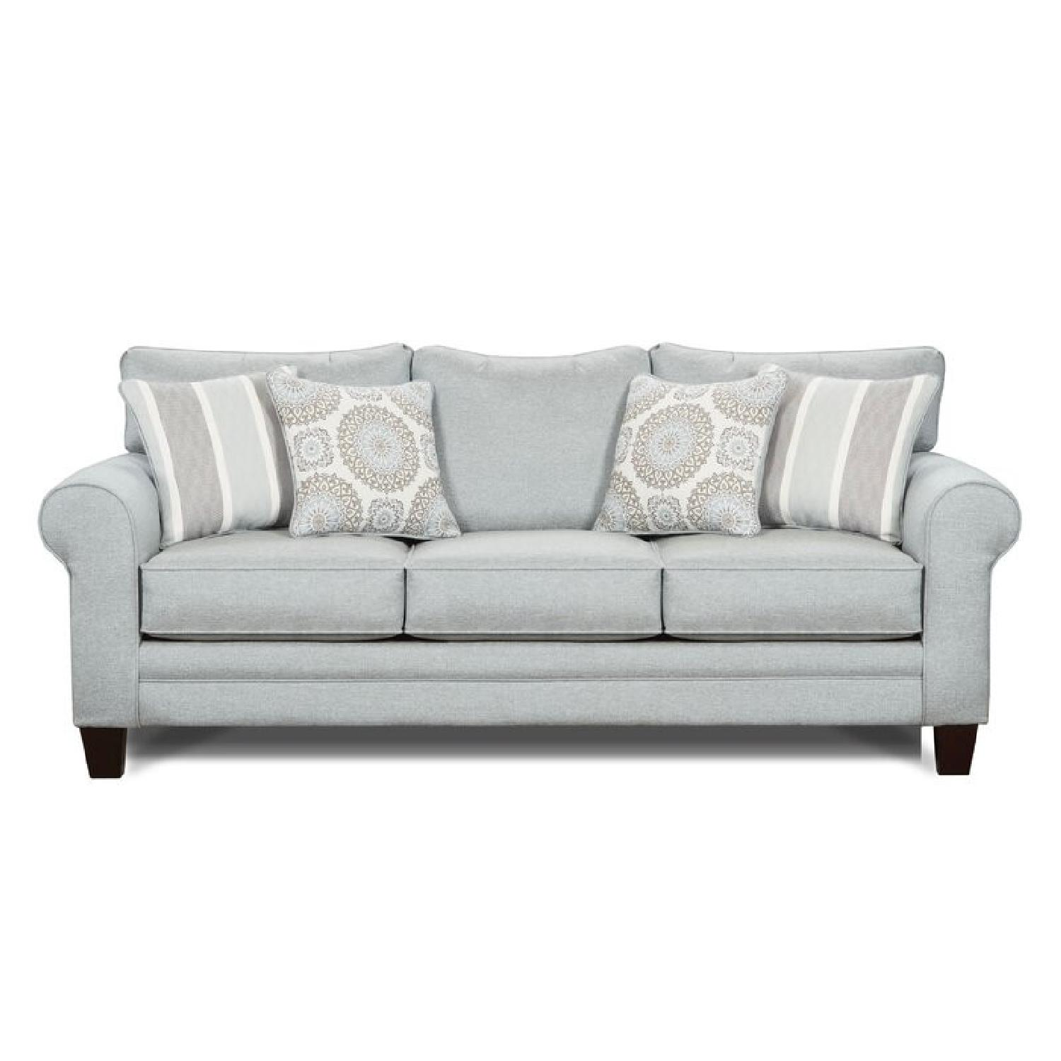 Wayfair Sedgley Rolled Armed Sofa with Reversible Cushion - image-9