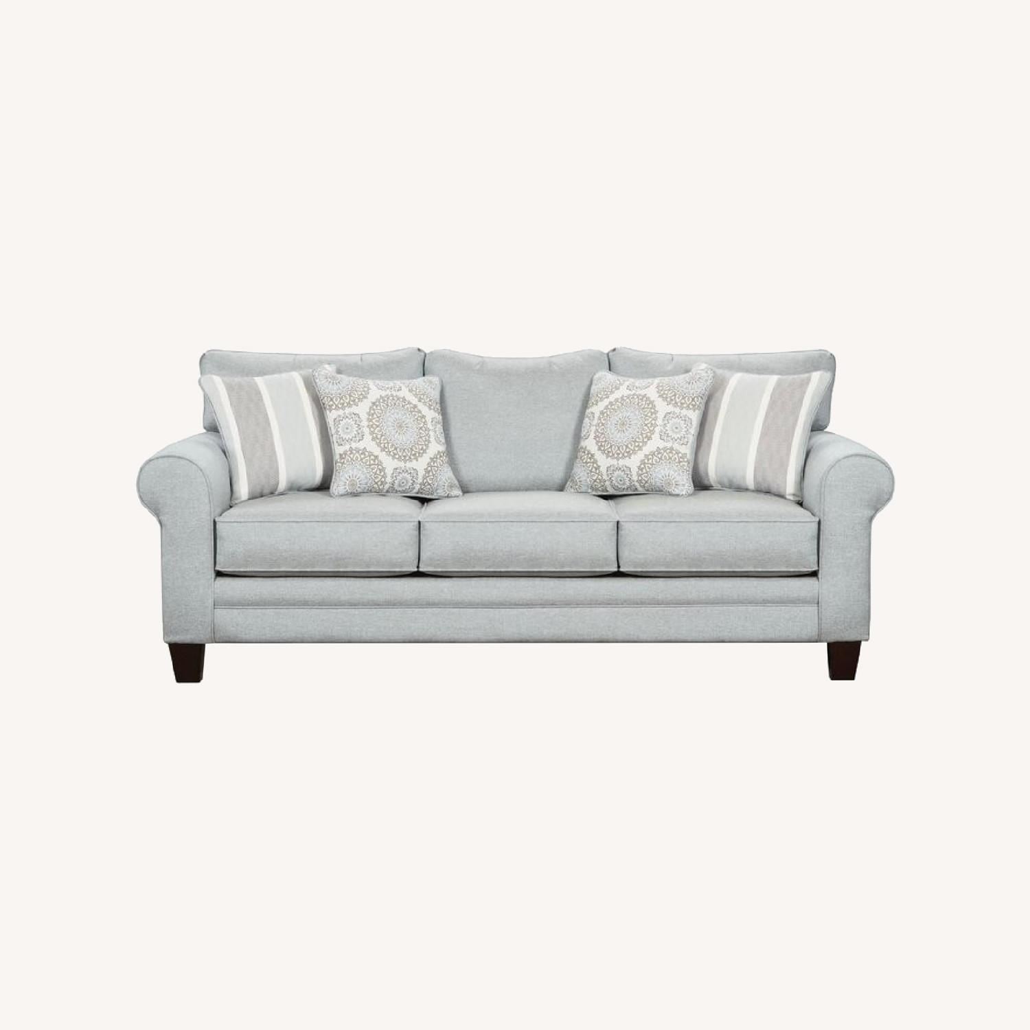 Wayfair Sedgley Rolled Armed Sofa with Reversible Cushion - image-0