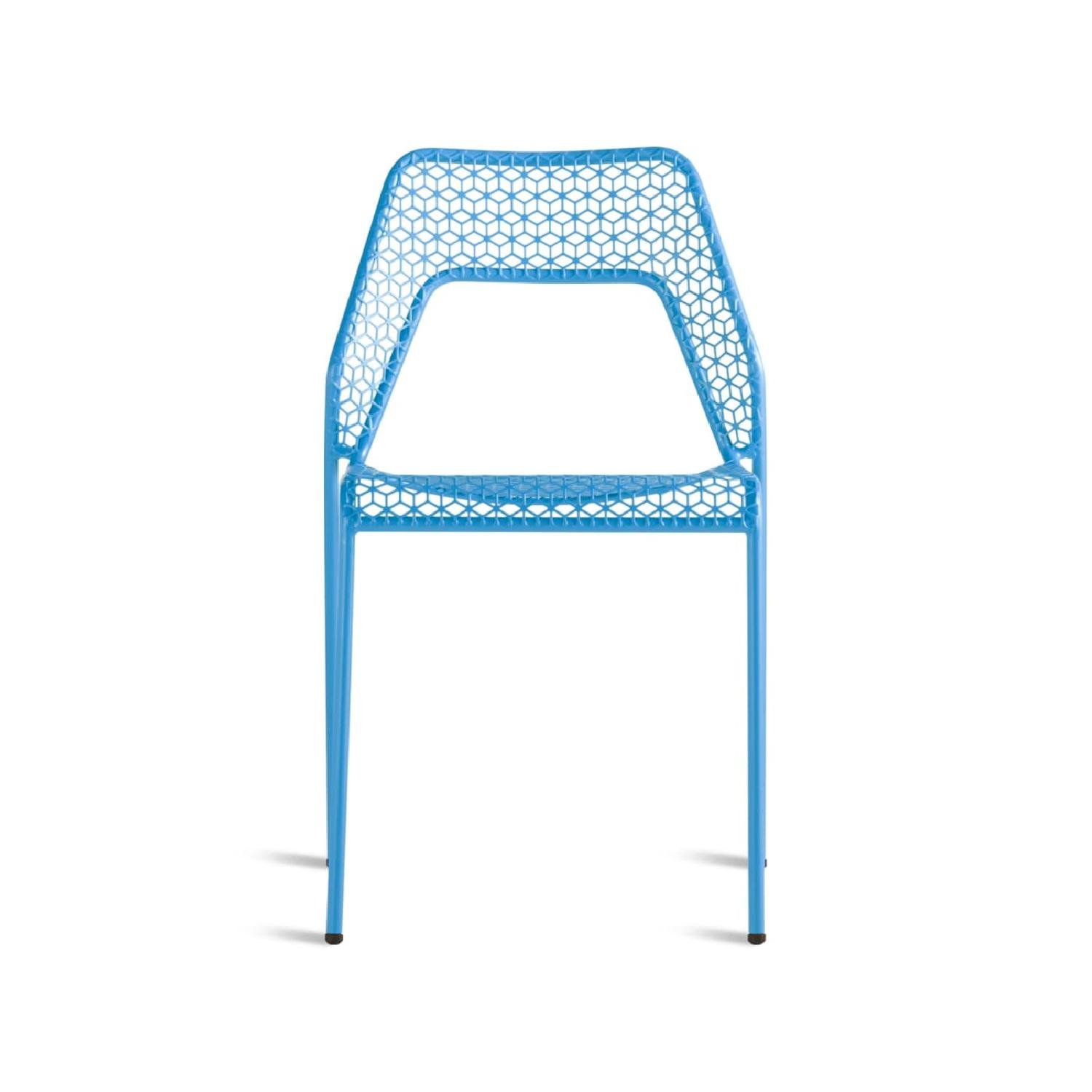 Blu Dot Hot Mesh Chairs in Simple Blue (Set of 4) - image-0