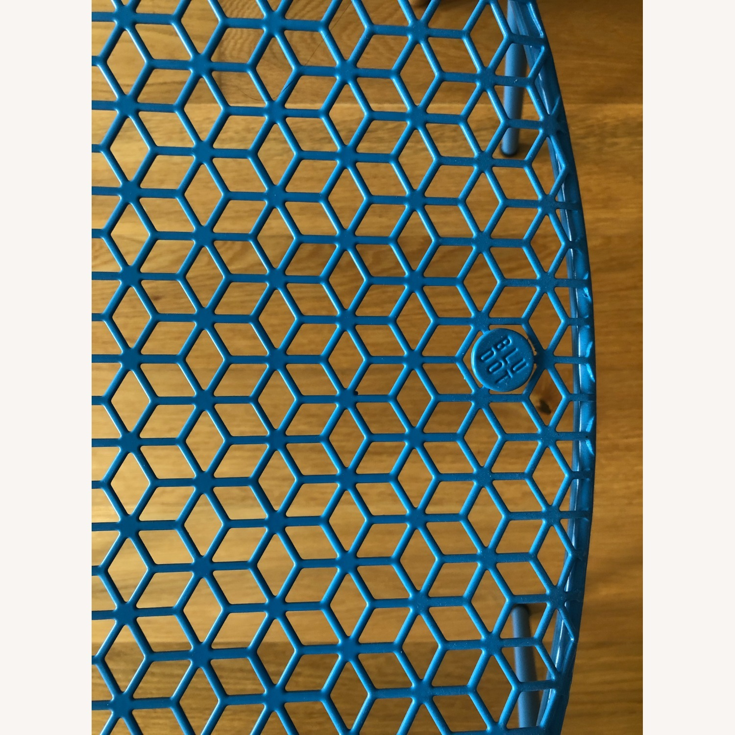 Blu Dot Hot Mesh Chairs in Simple Blue (Set of 4) - image-5